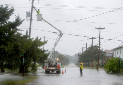 Greer CPW Electric Crews Headed to Coast Following Hurricane Dorian
