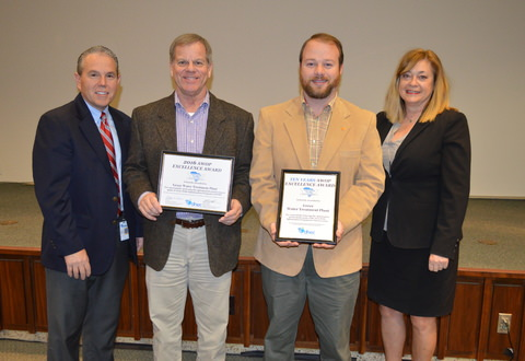 CPW Water Filter Plant Recognized with 10th Consecutive Water Quality Award