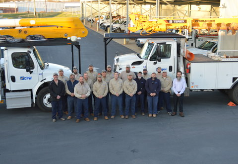 Greer CPW Electric Department Honored for Zero Work Related Incidents in 2016