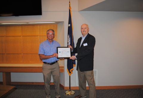 Greer CPW Employee Receives Prestigious Patriot Award from National Guard
