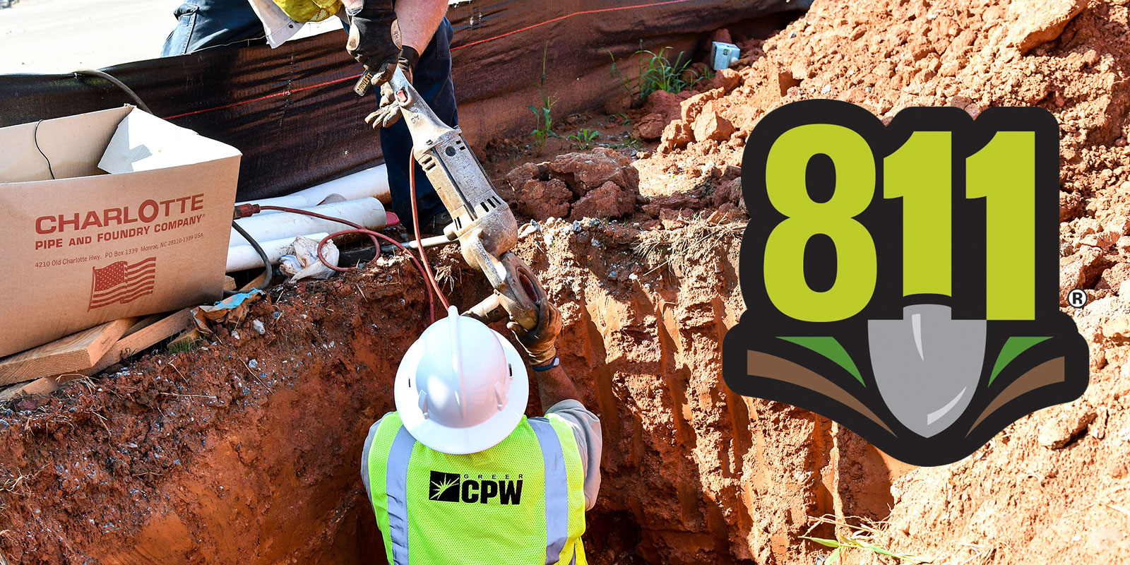 Call Before You Dig Greer Commission Of Public Works Miss dig 811 is a free safety notification system in michigan that safeguards utility facilities before excavation projects begin. call before you dig greer commission